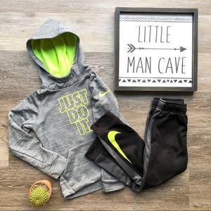 Kids Nike Dri-fit Hoodie & Joggers Outfit sz 6